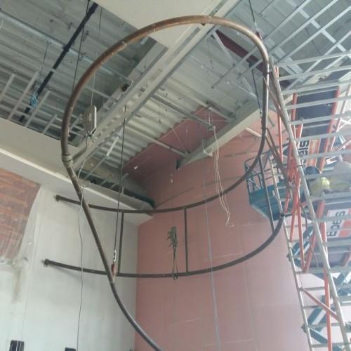 Aquapark-Tychy-Wykonanie-i-monta-podpor-pod-dekoracje---Strefa-wejciowa1